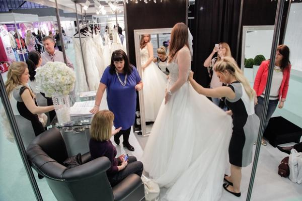 Business booms at The National Wedding Shows