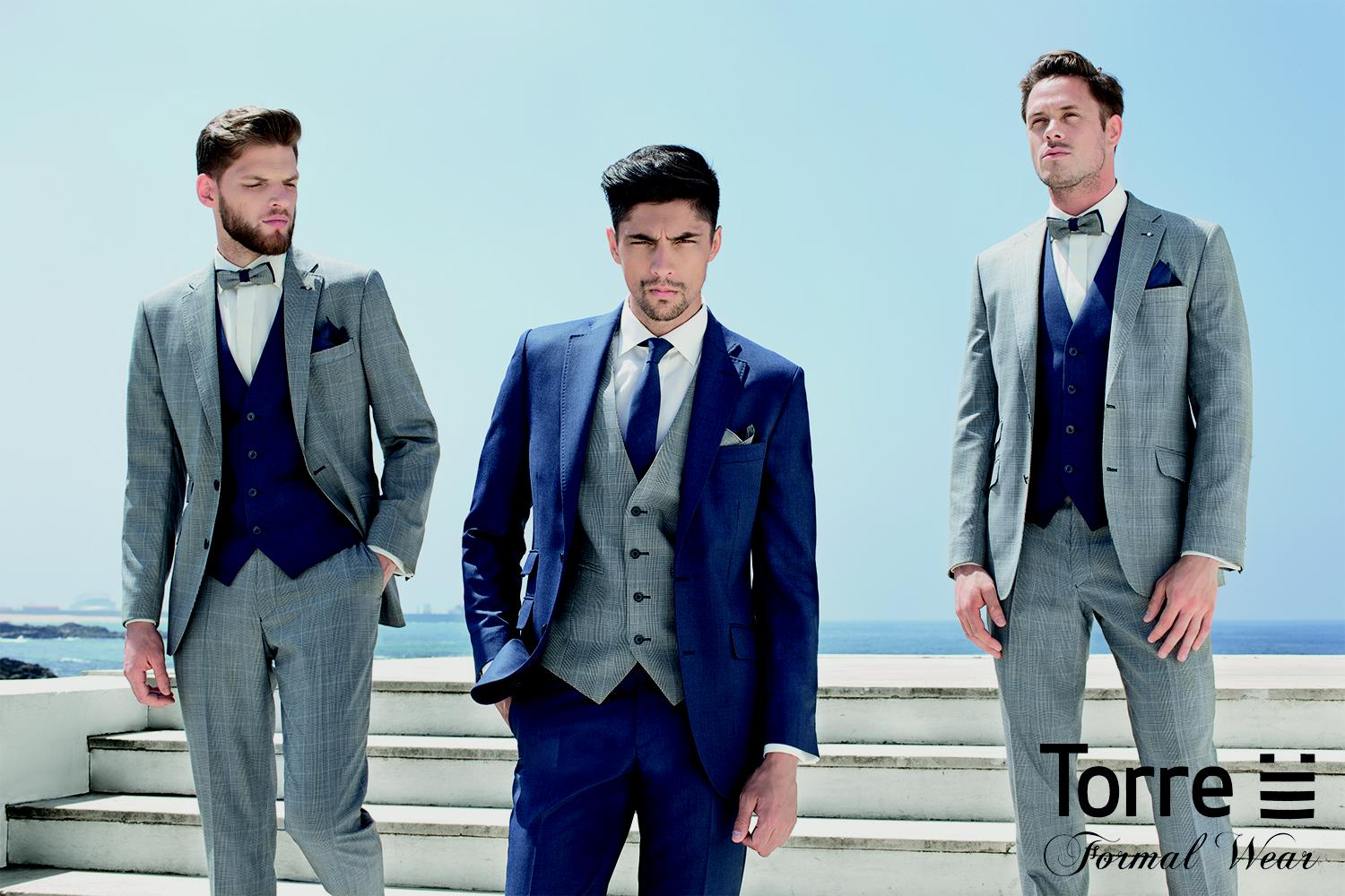 Top five menswear trends from Torre