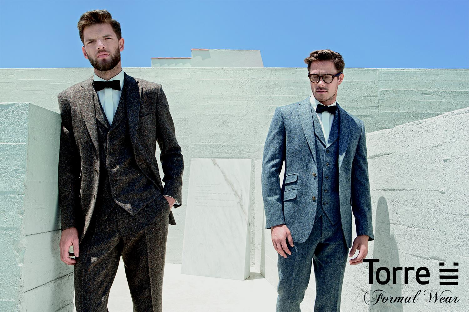 Top five menswear trends from Torre - Collections - Bridal Buyer
