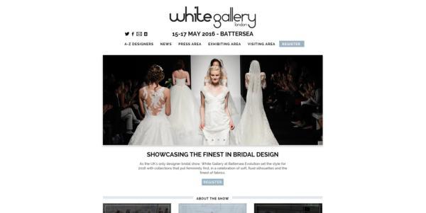 White Gallery web revamp