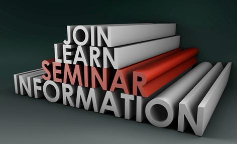 Sign up for sales enhancing seminars