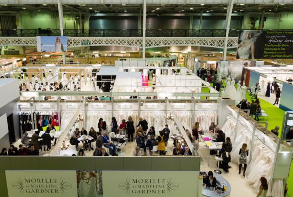 Visitor numbers rise at The London Bridal Show