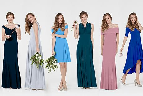 ***EXCLUSIVE*** Top Brit designer launches bridesmaid collection