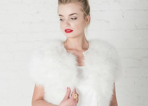 Embrace hygge bridal style