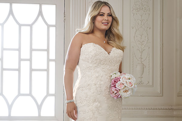 Plus-size from Sophia Tolli