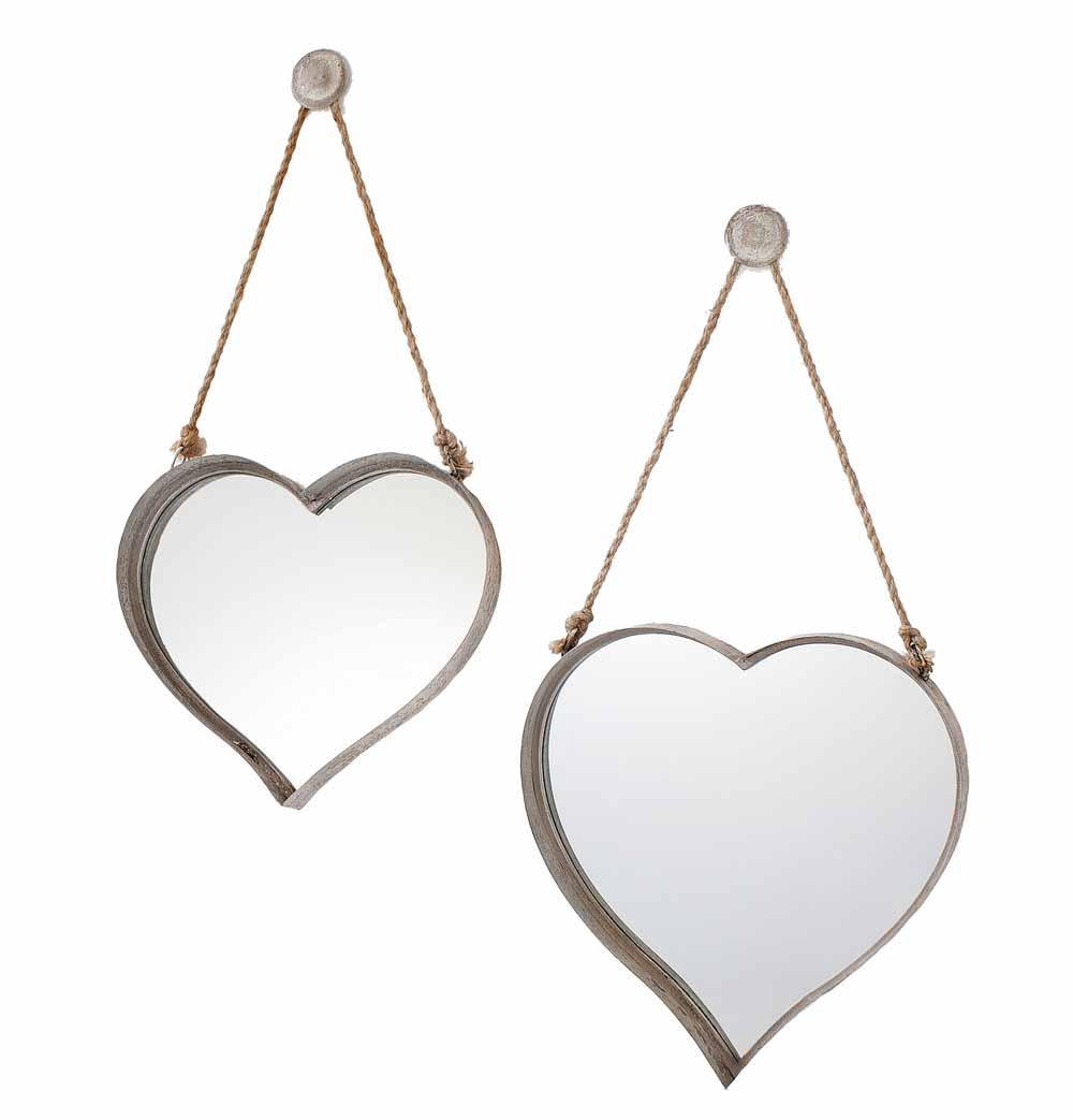 Heart Shaped Wall Mirrors