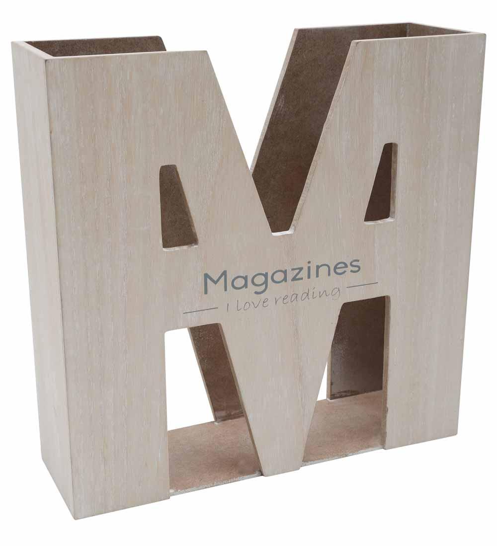 M Shaped Magazine Rack