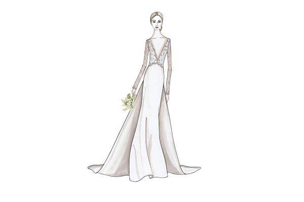 Meet the Head Designer of JLM Couture's New Collection, Allison Webb