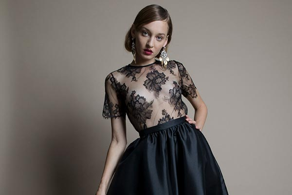 Bridalwear Brand Halfpenny London Introduces the Black Edit