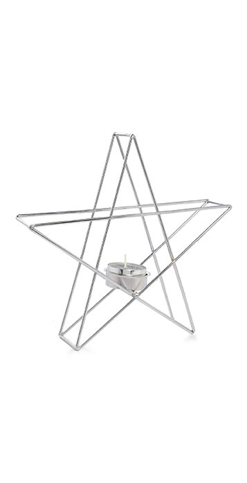 Star-Shaped Tea Light Holder