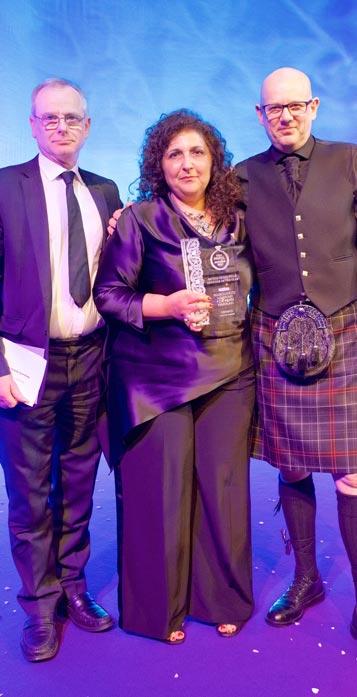 Winner British Bridalwear Designer of the Year