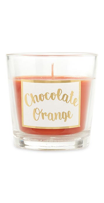 Chocolate Orange Scented Candle