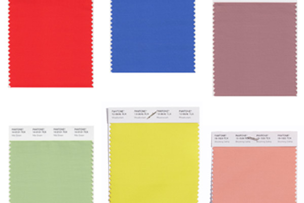 PANTONE Publishes the Colour Trend Report for 2018