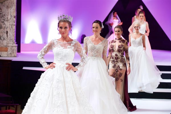 All the Highlights from Runway One at The Harrogate Bridal Show 2017