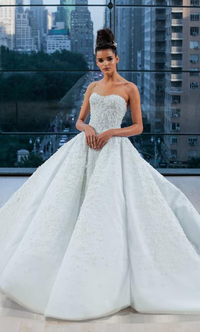 Ines Di Santo\'s Fall 2018 Collection at New York Bridal Fashion Week ...