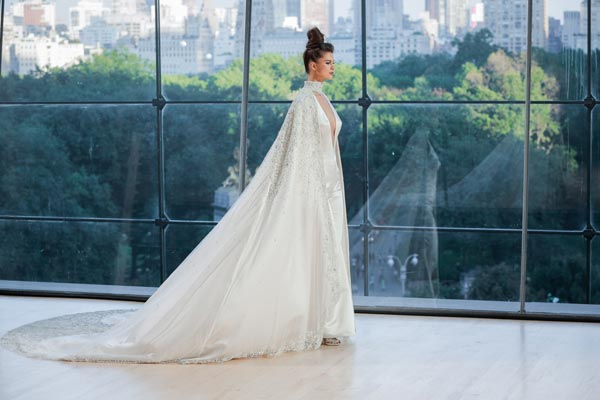Ines Di Santo's Fall 2018 Collection at New York Bridal Fashion Week