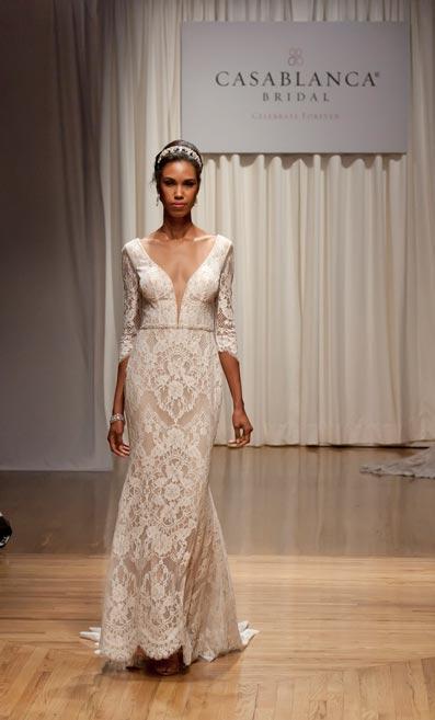 Casablanca Bridal Celebrate 20 Years with a Runway Presentation at NYBFW