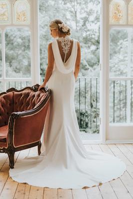 white rose bridal - image