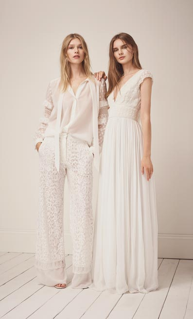 French Connection's bridalwear collection is set to launch on 1st February