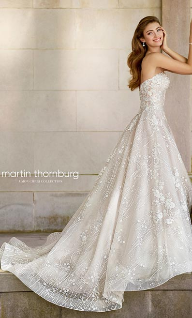 Mon Cheri Bridals Rebrands for Spring 2018