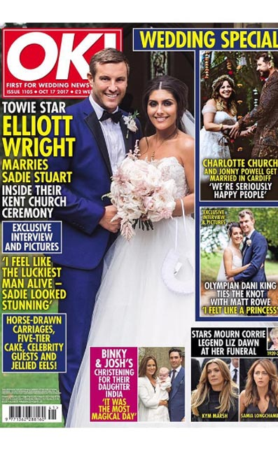 Mon Cheri Bridals Appears in OK! Magazine Twice in One Week