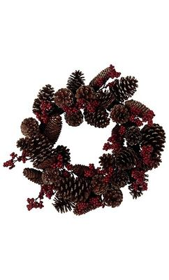 Pinecone and Berry Wreath - Marks & Spencer