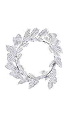 Paper Christmas Wreath - Next