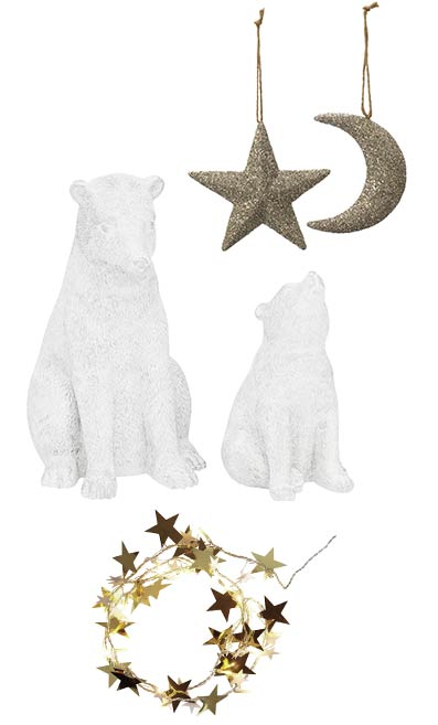 Star and Moon Decorations – House of Fraser