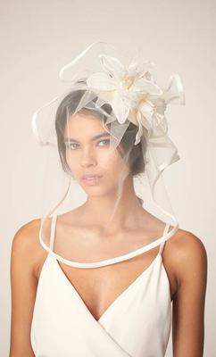 Awon Golding Millinery - Bridal - Lover