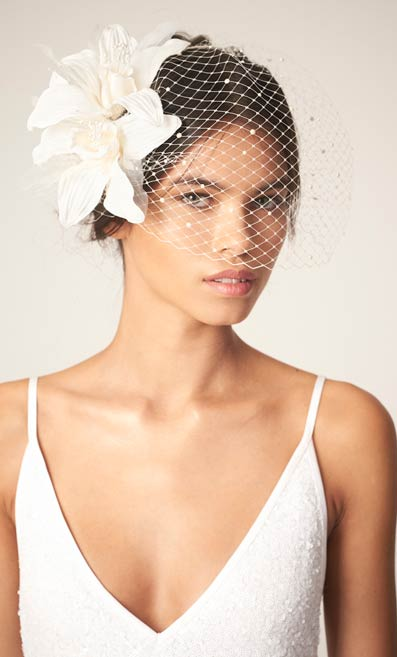 Awon Golding Millinery - Bridal - Mystique