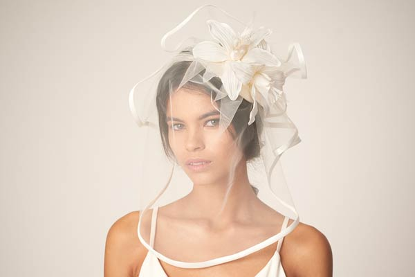 Take a Closer Look at Awon Golding Millinery's New Bridal Collection