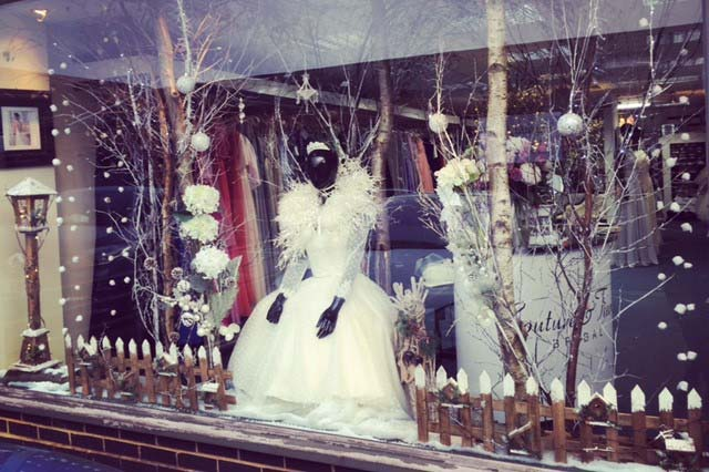 Snowy Display - Couture and Tiaras