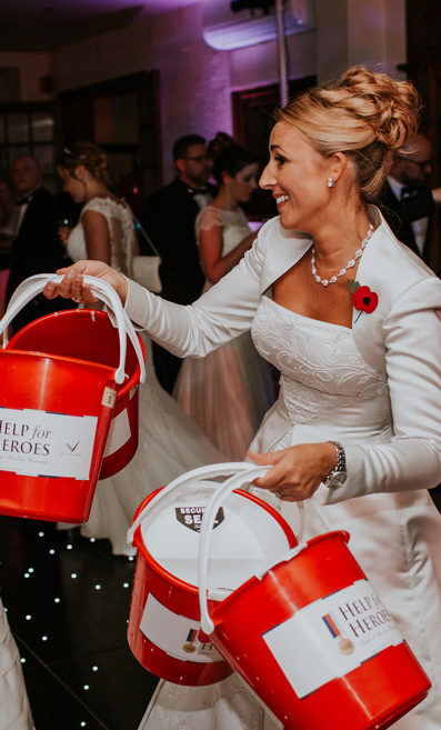 Abigail's Collection & The Groom's Room Raises £4,200 for Help for Heroes