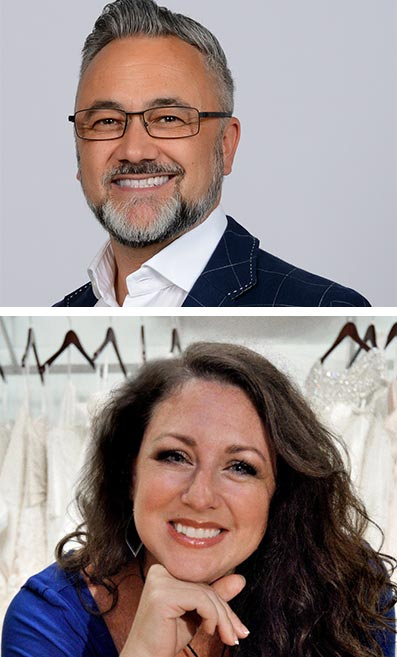 Warren Knight and Wendy Rivera will be speaking at London Bridal Week