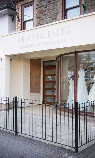 Sentiments Luxury Bridalwear has been sold