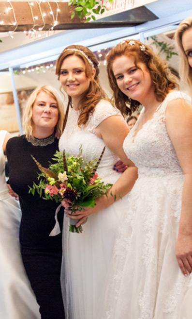 Rachel Watmough of Butterfly Bridal Boutique
