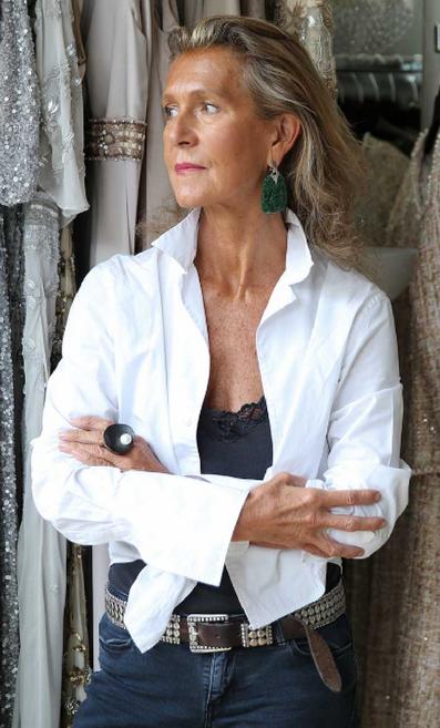 Gill Harvey, designer at Eliza Jane Howell