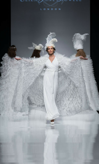 Eliza Jane Howell on the White Gallery catwalk