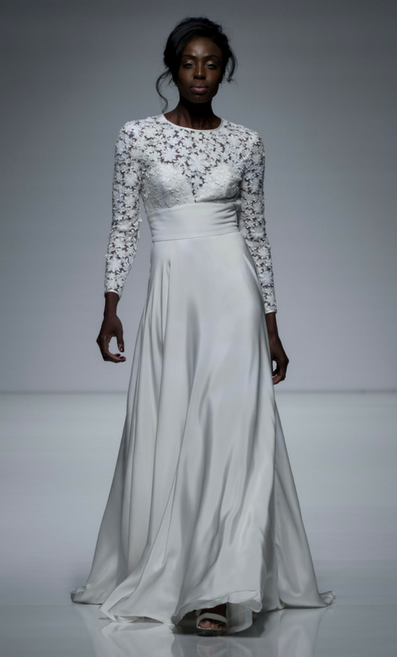 Sassi Holford gown in 2018 Private Fashion Show at White Gallery