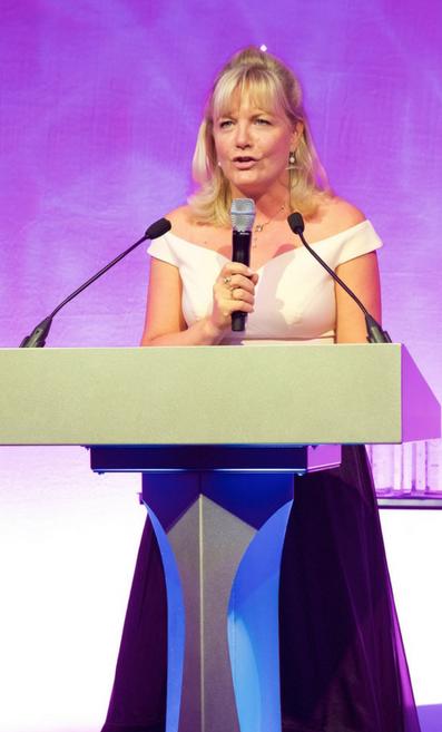 Wendy Adams at Bridal Buyer Awards 2017