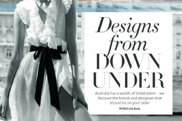 Eight Australian Bridal Designers You Need on Your Radar