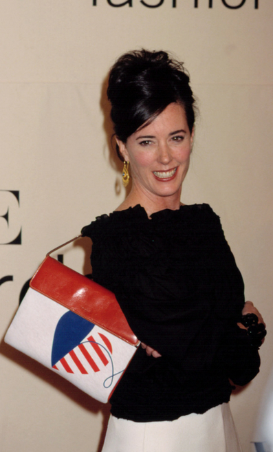 Accessory designer and entrepreneur Kate Spade