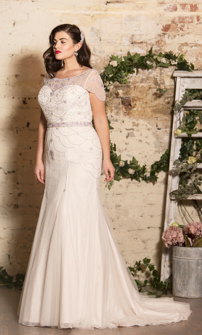 Dress from True Bride's curvy range