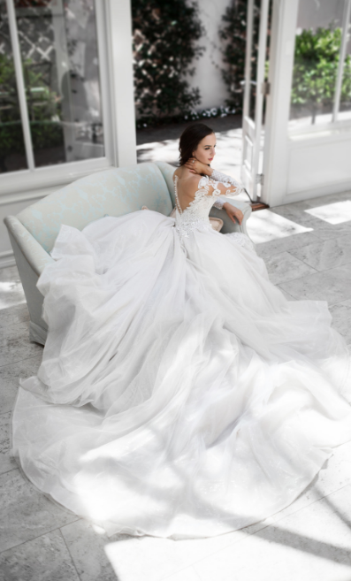 A Cizzy Bridal design