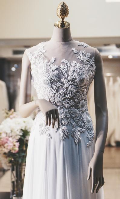Bridalwear shop interior