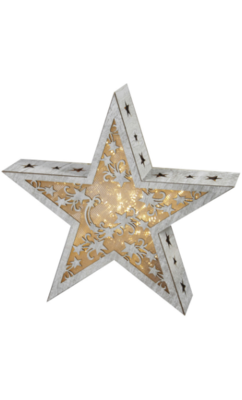 LED Star Light with Snowflake Effect