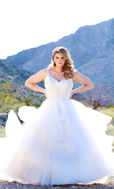 Michelle Bridal Caters for Curves
