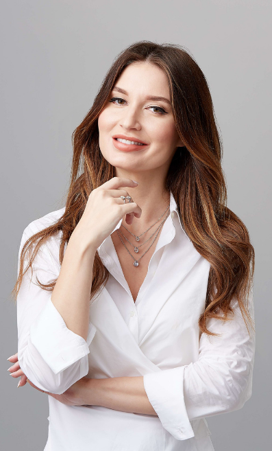 Tatiana Ovchinnikova, founder of jewellery brand Lemuria Jewels