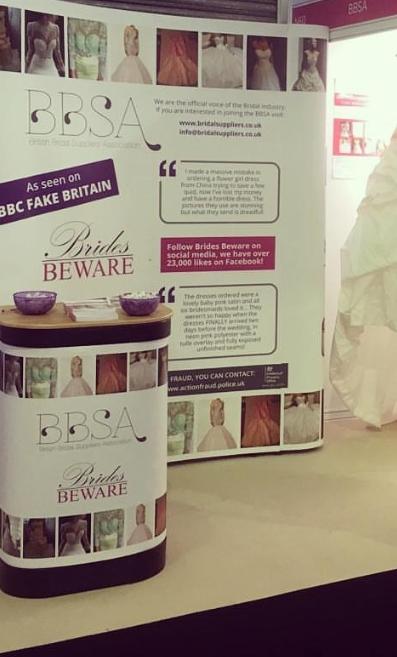 BBSA Brides Beware stand