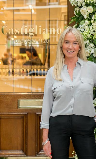 Luxury bridal designer, Caroline Castigliano